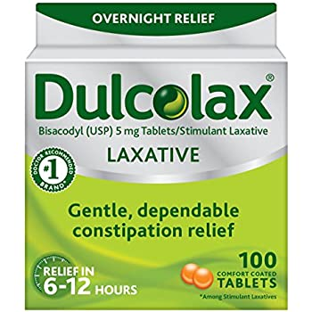 Amazon Com Dulcolax Laxative Tablets 100 Count Gentle
