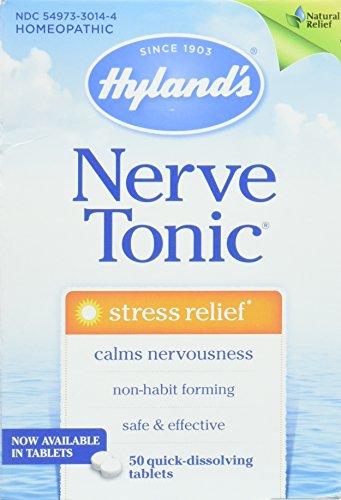 Hylands Nerve Tonic Tablets, 50 Tablets