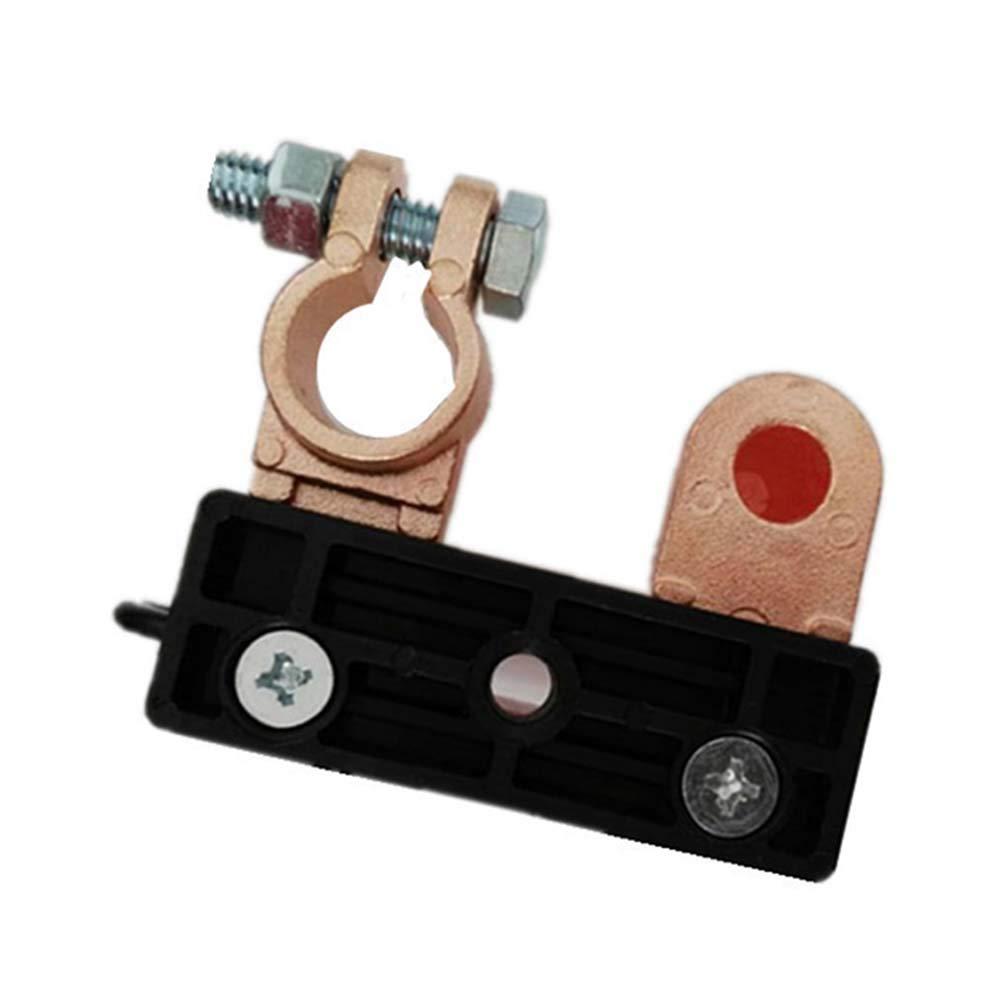 Schimer Batterietrennschalter Batterietrenner Batteriehauptschalter Batterie Klemme Trenner Trennschalter 6V 12V 24V F/ür Auto KFZ LKW PKW Auto Boot Negativ Polklemmen 15-17mm