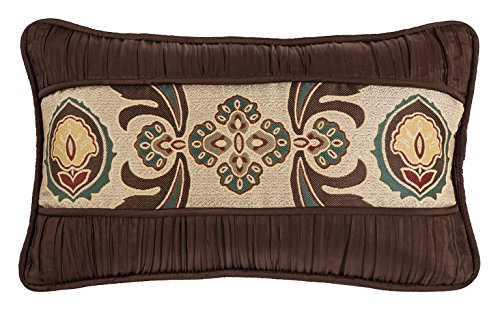 HiEnd Accents Batiste Rouching Detail Loretta Pillow
