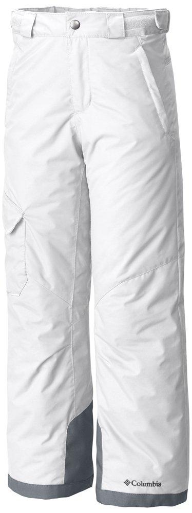 Columbia Youth Bugaboo Pants, Medium, White