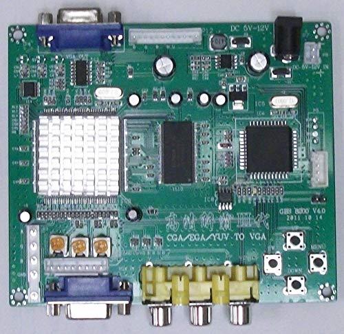 Arcade Game RGB/CGA/EGA/YUV to VGA Arcade HD-Converter PCB (GBS-8200) Converts older arcade ()