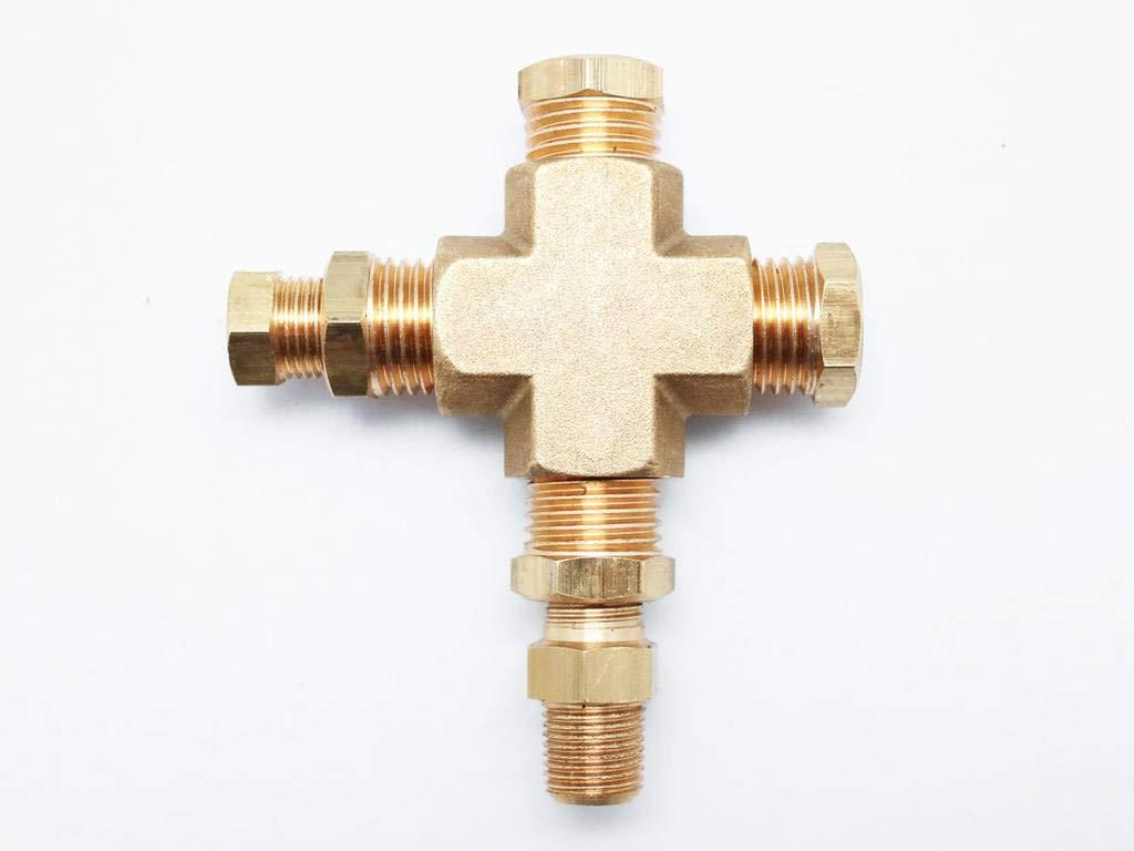 CarLab Sensor Sender Adapter For Oil Temp Oil Pressure Gauge Meter
