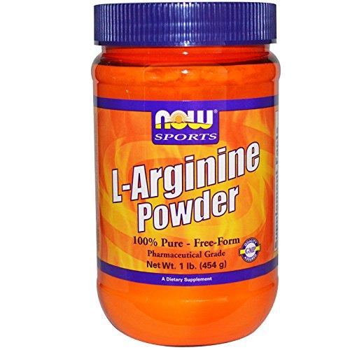 L-Arginine Powder, 1 lb (454 g)