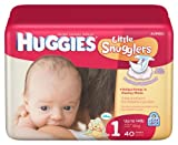 Huggies Little Snugglers Size 1 - 40 Count