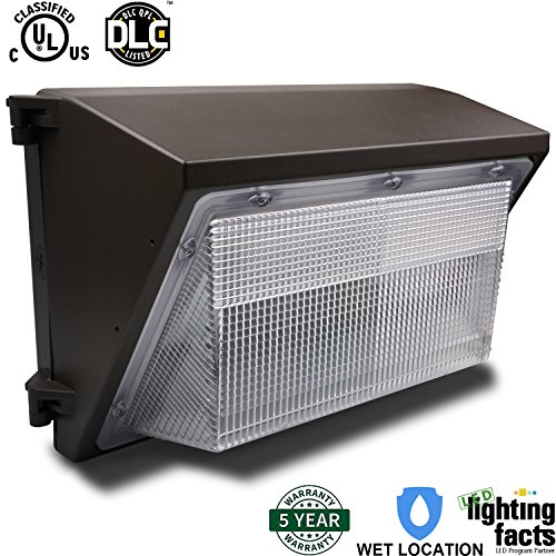 Eagledlight 70W LED Wall Pack Outdoor Lighting Fixture 400W MH/HPS/HID Replacement 6800LM 5000K (Crystal White Glow) Waterproof Security Lights Outdoor Wall Light (Exterior Lighting Commercial compare prices)