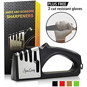 Amazon.com: Zulay Premium Quality Knife Sharpener for ...