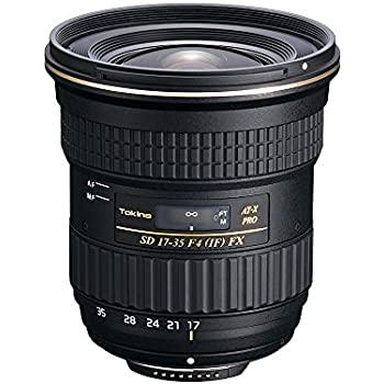 Tokina 17-35mm f/4 AT-X Pro FX Lens for Canon