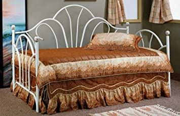white metal day bed by poundex - Day Bed Frames