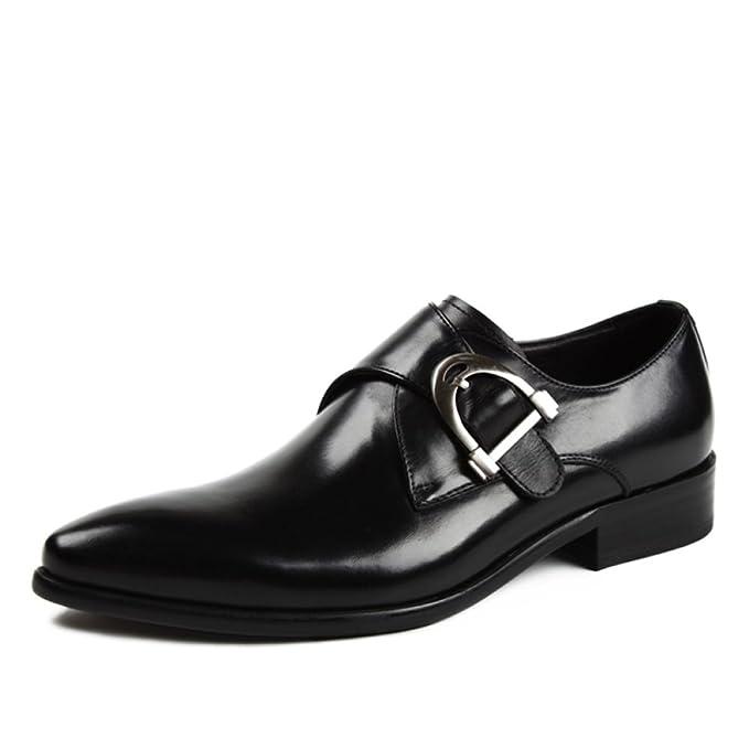 f6b3f2f02 Hombre Derby Negocios Formal Puntiagudos Zapatos Uniformes Zapatos ...