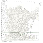 Rio Rancho Zip Code Map.Amazon Com Zip Code Wall Map Of Rio Rancho Nm Zip Code Map Not