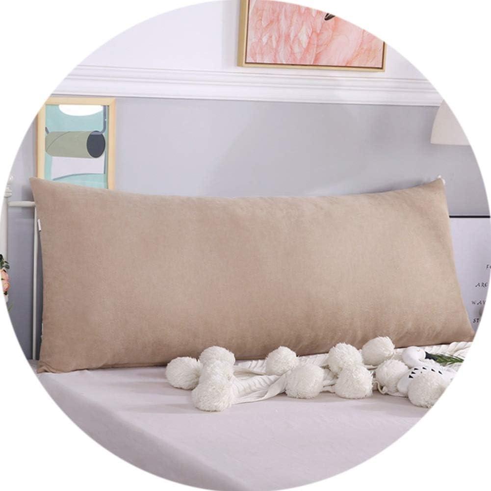 Pearl Cotone Lavabile LEBAO Cuscini Grandi per Testiera Letto Testata Letto Matrimoniale Color : A, Size : 80 * 50 * 20cm Testata Cuscino Tatami Rilettura Cuscino