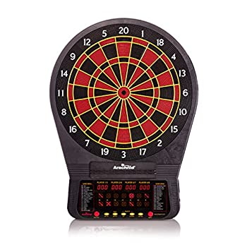 Image of Arachnid Cricket Pro 670 Tournament-Quality Dartboard with 35 Games and 318 Variations (6 Cricket Games) Dartboards