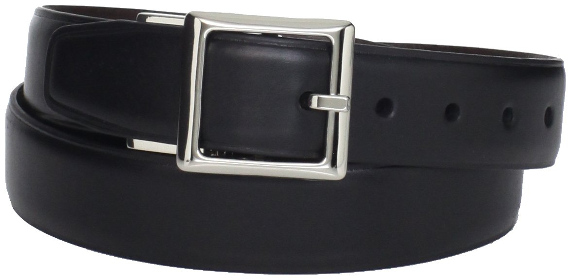Dockers Men's Big Boys' Reversible To Brown Belt,Black,Medium/26-28 Inches
