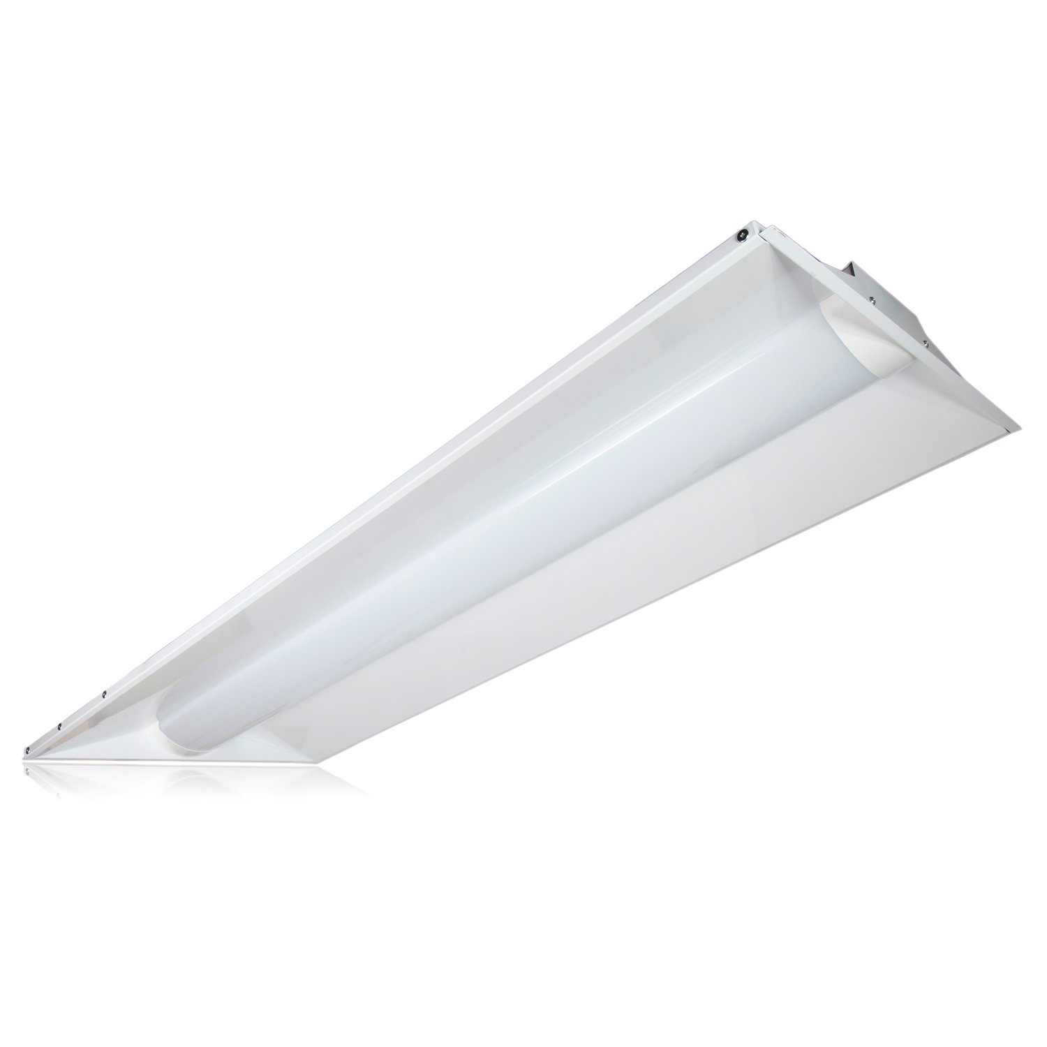Maxxima 2 ft. x 4 ft. LED Troffer Light Fixture 50W Color ...