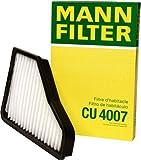 Mann-Filter CU 4007 Cabin Filter for select Mercedes-Benz models