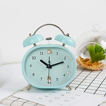 Aich Reloj para jóvenes,Clásico Reloj Despertador Análogo ...