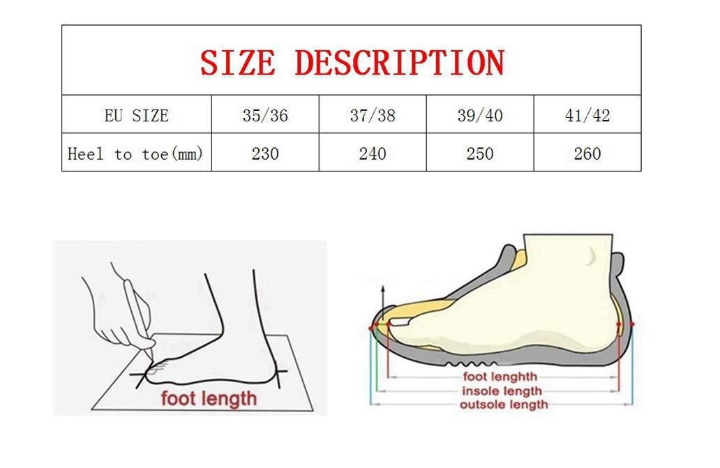 York Zhu Women Home Slippers,Memory Foam Plush Lining Slip-on House Shoes Fluffy Slippers