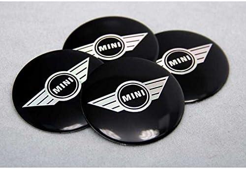 4pcs C013 56.5mm Car Styling Accessories Emblem Badge Sticker Wheel Hub Caps Centre Cover MINI Cooper Tattoo Clubman Contryman man Coupe