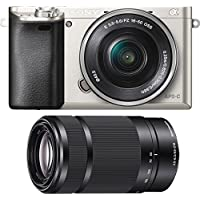 Sony Alpha a6000 Camera with 55-210mm and 16-50mm Power Zoom Lenses - Includes Camera with 16-50mm Power Zoom Lens and 55-210mm Zoom Lens (Black) Benefits Review Image
