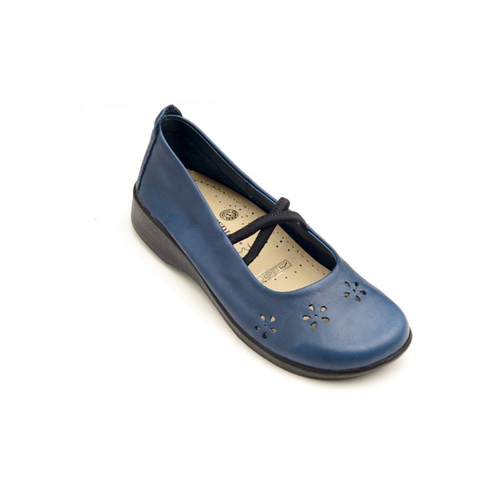 Arcopedico 6811 Flower Womens Flats Shoes B01N67GM7S 41 M EU|Indigo