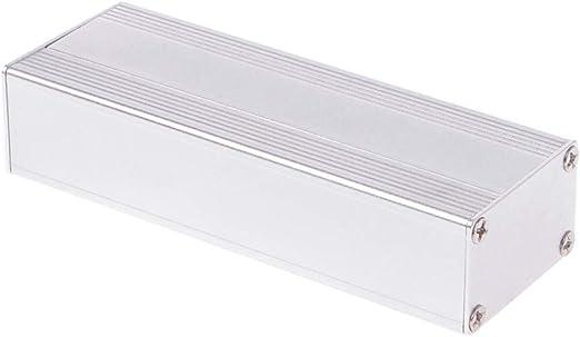 FATTERYU Caja de Aluminio para proyectos de Bricolaje, 80 x 40 x ...