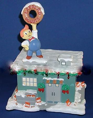 Simpsons Christmas Village.Amazon Com Hawthorne The Simpsons Christmas Village Lard