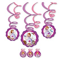 Amscan Sofia First Swirl Decorations Party Accessory