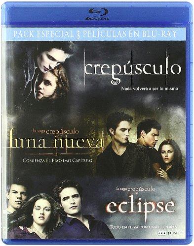 Crepusculo + Luna nueva + Eclipse [Blu-ray]: Amazon.es: Peter ...