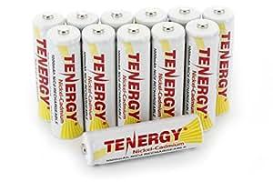 Amazon.com: Tenergy AA Rechargeable Battery NiCd 1000mAh 1