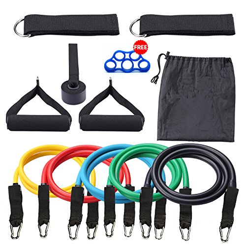 MINGTU Resistance Bands Set with Exercise Tube Bands, Good Tube Bands for Body Shaping, Coaching, Physical Remedy- one hundred% Life Time Guarantee – DiZiSports Store