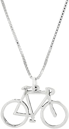 Sterling Silver Jewelry Pendants /& Charms Polished Coo-Coo Clock Pendant