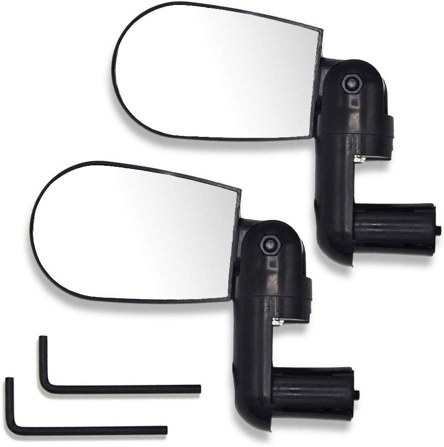 Espejo para bicicleta, conjunto de 2 espejos retrovisores con ...