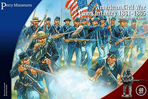 - Perry Miniatures American Civil War Union Infantry 1861-1865 28mm ACW115