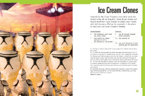 Ice Sabers: 30 Chilled Treats Using the Force of Your Freezer! (Star Wars Cookbook) by Chronicle Books (Image #1)
