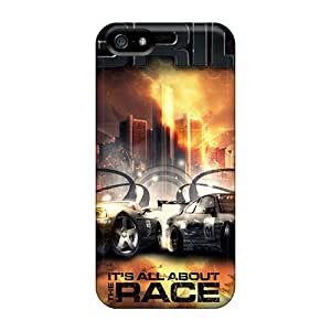 [JHg21955AmXP]premium Phone Cases For Iphone 5/5s/ Race Grid Tpu Cases Covers Black Friday