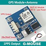 SavvyTec 1 PCS GPS Module | GPS Receiver with Antenna SiRF IV 1PPS Baud Rate 4800