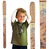 wall hanging growth chart boy - Growth Chart Art | Wooden Ski Growth Chart | Baby Skis | Ski Gifts | Wall Hanging Wood Height Chart for Measuring Kids, Children, Boys, Girls | Maple Mountain