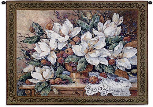 (Fine Art Tapestries Enduring Riches Hand Finished European Style Jacquard Woven Wall Tapestry USA Size 41x53)