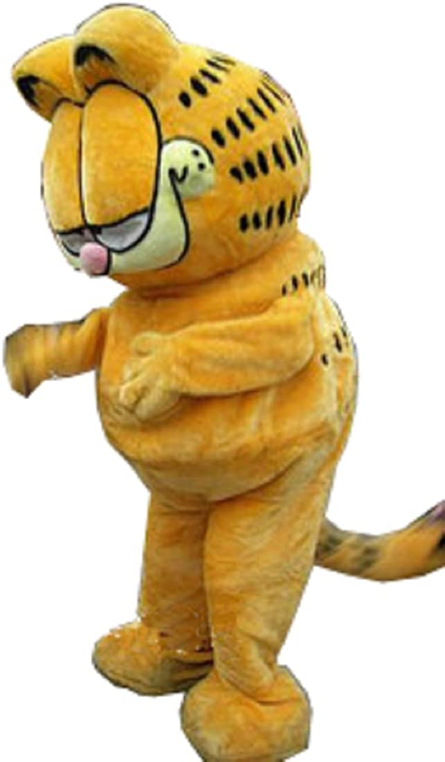 Amazon Com Garfield Cartoon Mascot Cosplay Costume Cosplay Costume Clothing