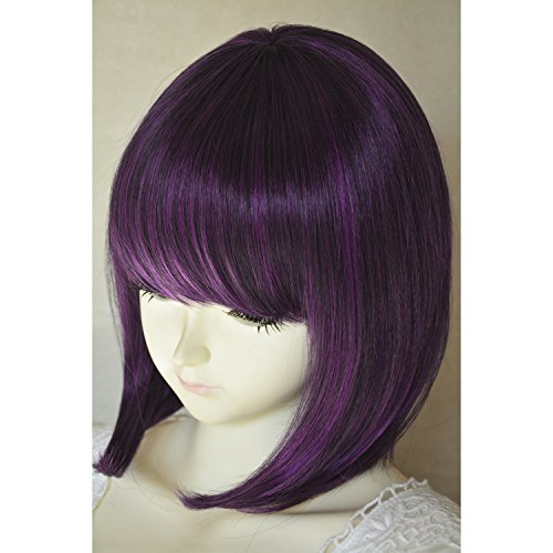 Liz Wig Medium Long Straight Bob Cosplay Wig 14