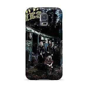 AlainTanielian Samsung Galaxy S5 Durable Hard Phone Covers Unique Design Realistic Breaking Benjamin Pictures [QuA8093niOi]