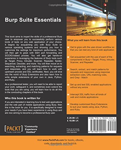 Buy Burp Suite Essentials Book Online at Low Prices in India
