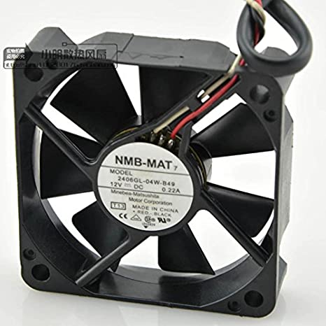 Amazon.com: NMB-MAT 2406GL-04W-B49 Ventilador de ...