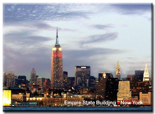 g Lights - New York City Photo Souvenir Refrigerator Magnet - NYC Fridge Magnets ()