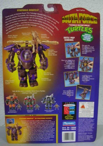 Tmnt 10Th Anniversary Teenage Mutant Ninja Turtles Muta Force Dynatronic Donatello