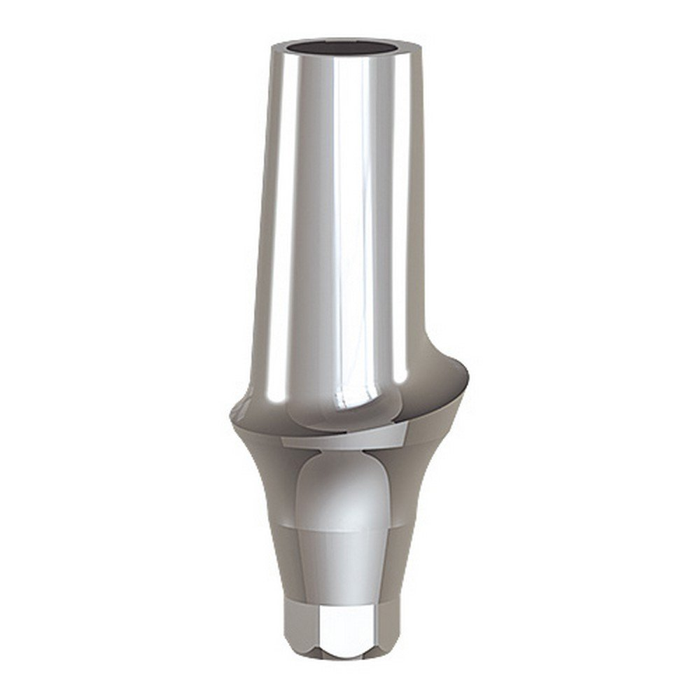 Paltop 40-72042 Conical 2 mm Straight Anatomic Abutment Ti, Concave, 4.5 mm Diameter