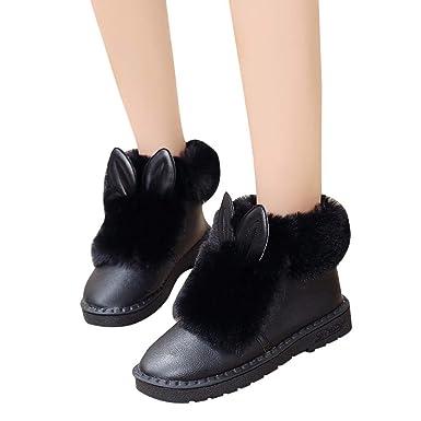 2eac7bda8415a Amazon.com: Memela Clearance Sale!! Women Ankle Shoe Rabbit Ears ...