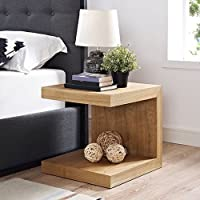 Modway Gallivant Nightstand in Natural, Twin