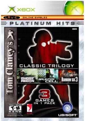 Amazon Com Tom Clancy S Classic Trilogy Video Games